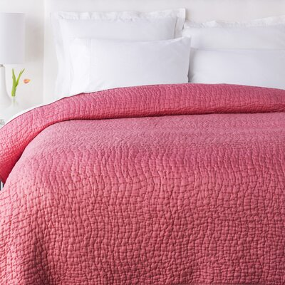 Fazio Duvet Cover Color: Tangerine, Size: King