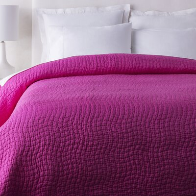 Fazio Duvet Cover Color: Hot Pink, Size: Twin