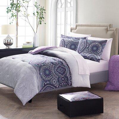 Urrutia Bed in Bag Set Size: Twin XL, Color: Lavender