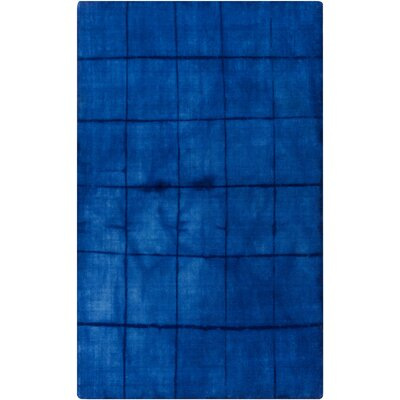 Steinsel Hand Woven Wool Cobalt Area Rug Rug Size: Rectangle 33 x 53