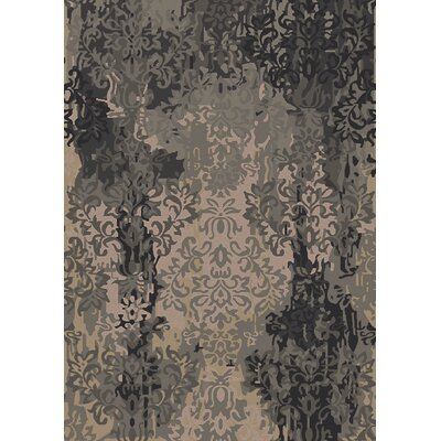 Urrutia Beige/Black Area Rug Rug Size: Rectangle 5 x 8