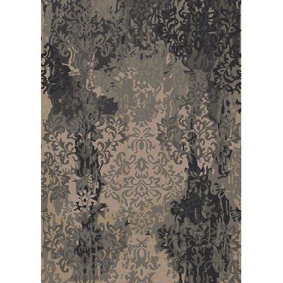 Urrutia Beige/Black Area Rug Rug Size: 2 x 3