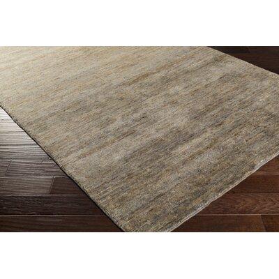 Nondoue Gray Area Rug Rug Size: Rectangle 33 x 53