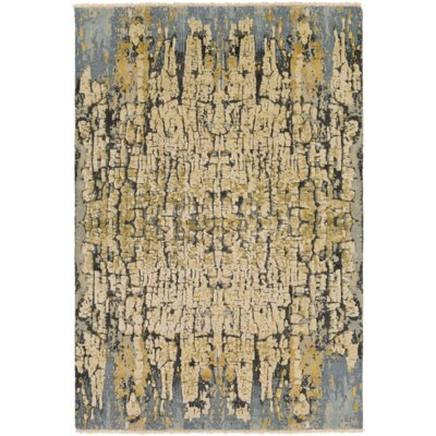 Varnai Hand-Knotted Area Rug Rug size: 9 x 13