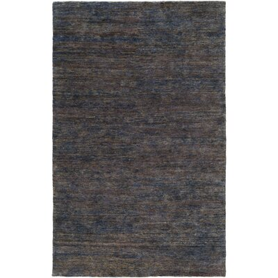 Nondoue Hand-Knotted Brown Area Rug Rug size: 33 x 53