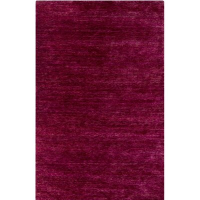 Nondoue Hand-Knotted Pink Area Rug Rug Size: Rectangle 8 x 10