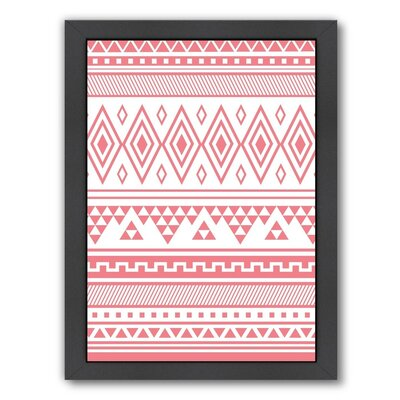 'Coral Tribal' Graphic Art Print
