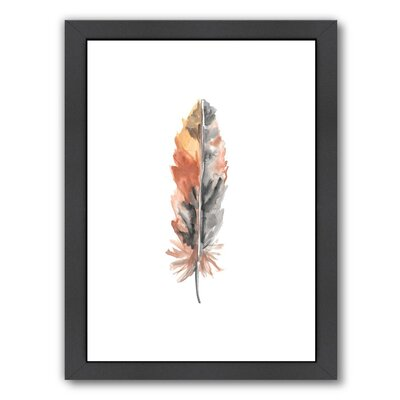 Feather 4 Framed Painting Print
