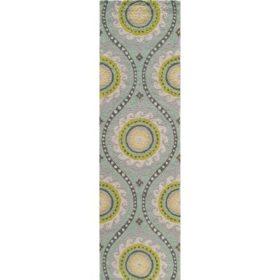 Yash Hand-Woven Gray Area Rug Rug Size: Rectangle 8 x 10