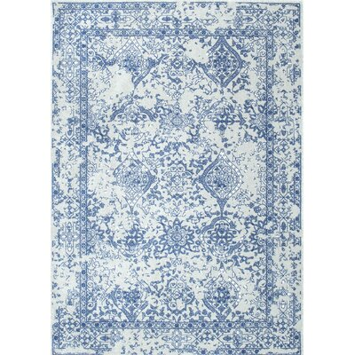 Pittwater Light Blue Area Rug Rug Size: 5 x 75