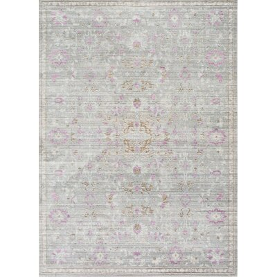Pittwater Gray Area Rug Rug Size: 7'10