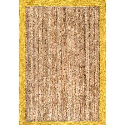 Sinha Gold/Beige Area Rug Rug Size: 4 x 6