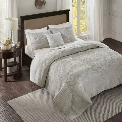 Haroun 4 Piece Coverlet Set