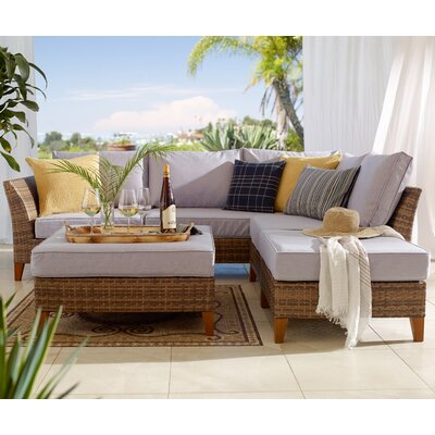 Alma 5 Piece Seating Group with Cushion