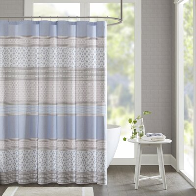 Karaman Cotton Printed Shower Curtain