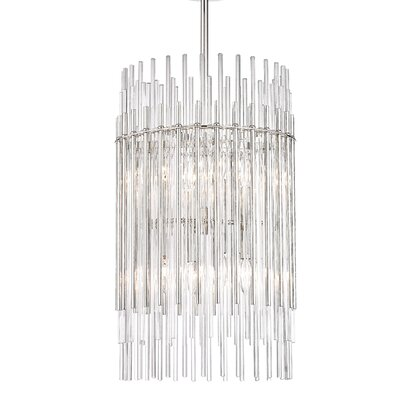 Saba 8-Light Drum Pendant Finish: Polished Nickel