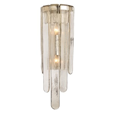 Bungalow Rose Zubia 2-Light Wall Sconce