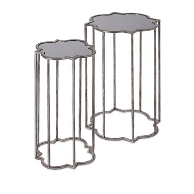 Randeep 2 Piece End Table Set