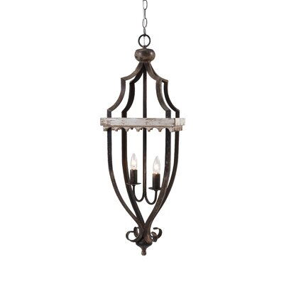 Brooks 2-Light Foyer Pendant