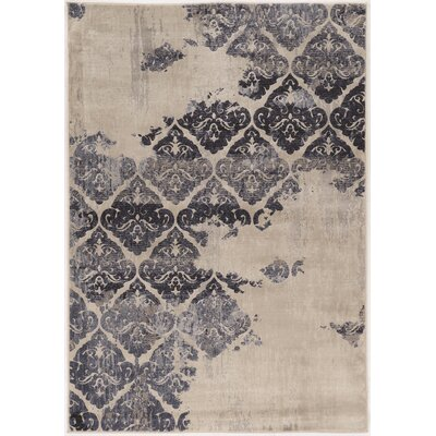 Pasho Beige/Black Area Rug Rug Size: Rectangle 2 x 3