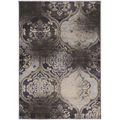 Pasho Beige/Black Area Rug Rug Size: 8 x 104