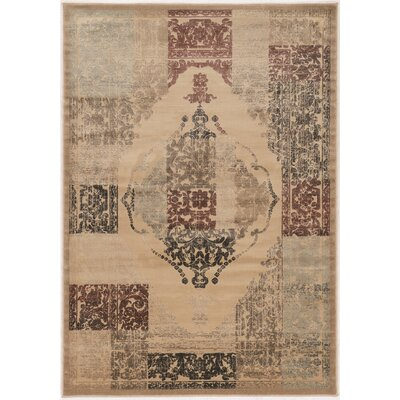Pasho Beige Area Rug Rug Size: Rectangle 5 x 76