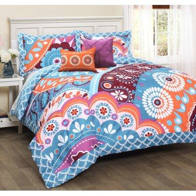 Belina 5 Piece Reversible Comforter Set Size: Full/Queen