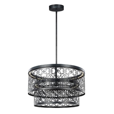 Veer 2-Light Drum Pendant