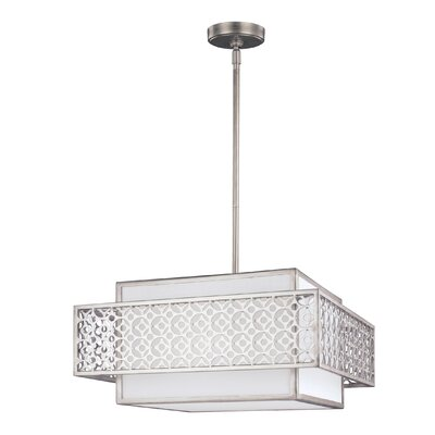 Permenter 3-Light Foyer Pendant