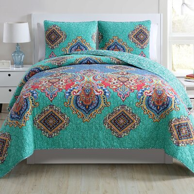 Unzueta 3 Piece Quilt Set Size: Queen