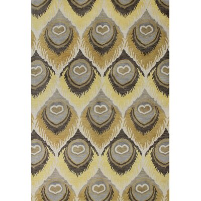 Amesville Ivory Area Rug Rug Size: 36 x 56