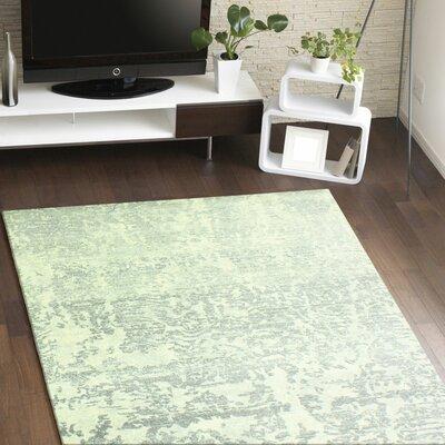 Arlingham Ivory/Grey Area Rug Rug Size: 76 x 96