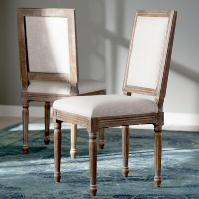 Artemesia Parson Chair Color: Grey