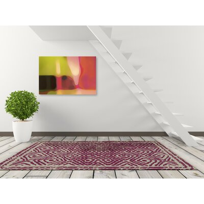 Sala Cerise Area Rug Rug Size: Rectangle 33 x 53