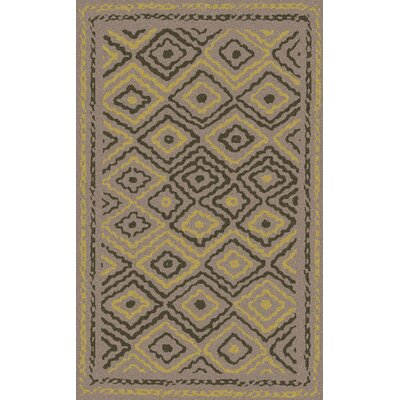 Sala Light Gray Area Rug Rug Size: Rectangle 33 x 53