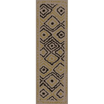 Sala Light Gray Area Rug Rug Size: Runner 26 x 8