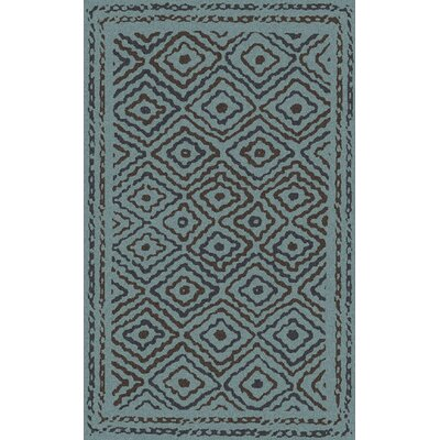 Sala Teal Area Rug Rug Size: Rectangle 5 x 8