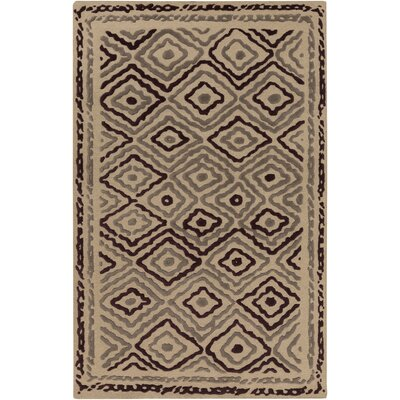 Sala Light Gray Area Rug Rug Size: Rectangle 5 x 8