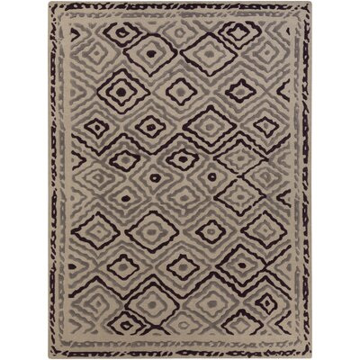 Sala Light Gray Area Rug Rug Size: Rectangle 8 x 11