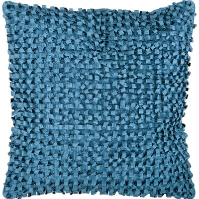 Sefrou Throw Pillow Cover Size: 18 H x 18 W x 0.25 D, Color: Blue