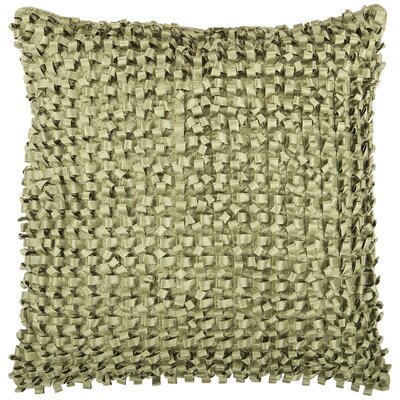 Sefrou Throw Pillow Cover Size: 18 H x 18 W x 0.25 D, Color: Green