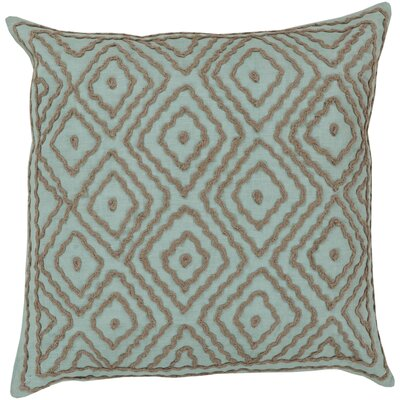 Sala 100% Linen Throw Pillow Cover Size: 18 H x 18 W x 1 D, Color: BlueBrown