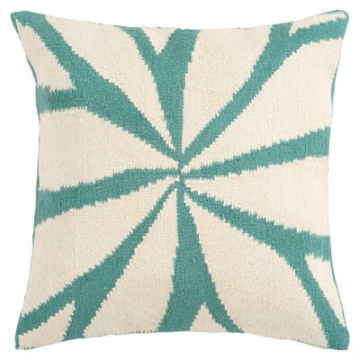 Pharlow Throw Pillow Cover Color: NeutralBlue, Size: 22 H x 22 W x 1 D
