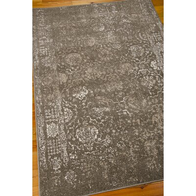 Salaam Gray Area Rug Rug Size: Rectangle 910 x 13