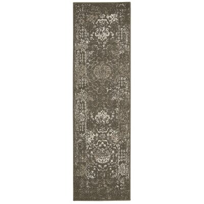 Salaam Gray Area Rug Rug Size: Runner 22 x 76