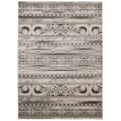 Saliba Beige Area Rug Rug Size: Rectangle 93 x 129