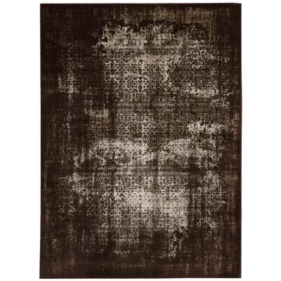 Saliba Latte Area Rug Rug Size: Rectangle 53 x 74
