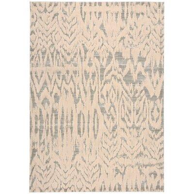 Shaima Beige/Gray Area Rug Rug Size: 79 x 1010