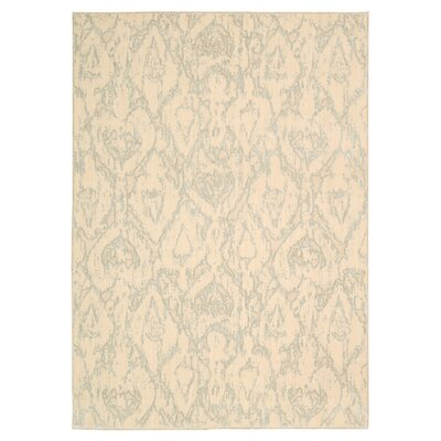 Shaima Bone Area Rug Rug Size: Rectangle 53 x 75