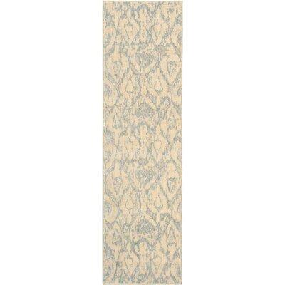 Shaima Bone Area Rug Rug Size: Runner 23 x 8